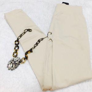 Pants - Cream color leggings
