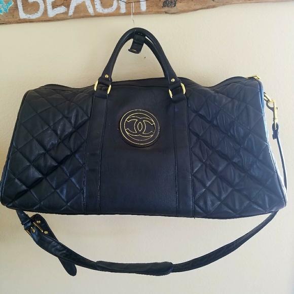 d62aa10f9de627 Replica Chanel Bags | New Chanel Replicate Duffel Bag Allgender ...