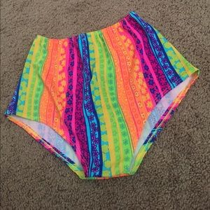 Colorful Swimsuit Bottoms