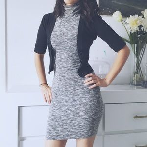 Dresses & Skirts - Soft gray turtleneck dress
