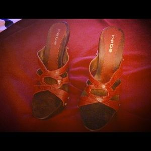 bebe Shoes - Bebe wedges