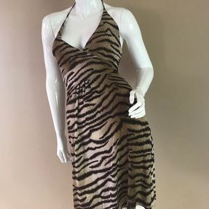 🐯Tiger Animal print dress