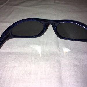 7ff79763f5 Oakley Accessories - Oakley Minute 1.0 Blue Hawaiian Hibiscus Flower