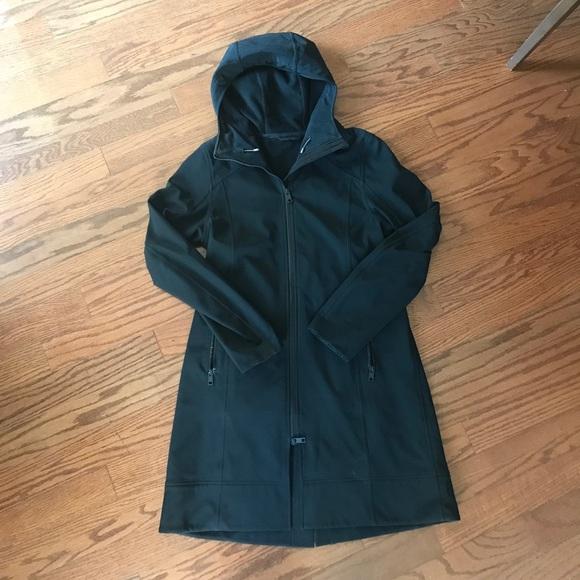 0923fe4451 lululemon athletica Jackets & Blazers - Lululemon Apres Yoga Rain jacket. Coat  Size 10