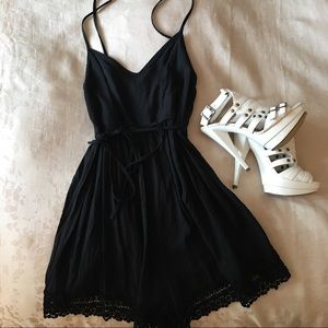 Abercrombie & Fitch Navy Romper