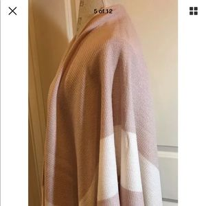BCBGeneration Open-Front Drape/Wrap OS NWT Rose Sk