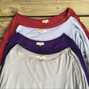 4 FOR $40 PIKO TOPS!