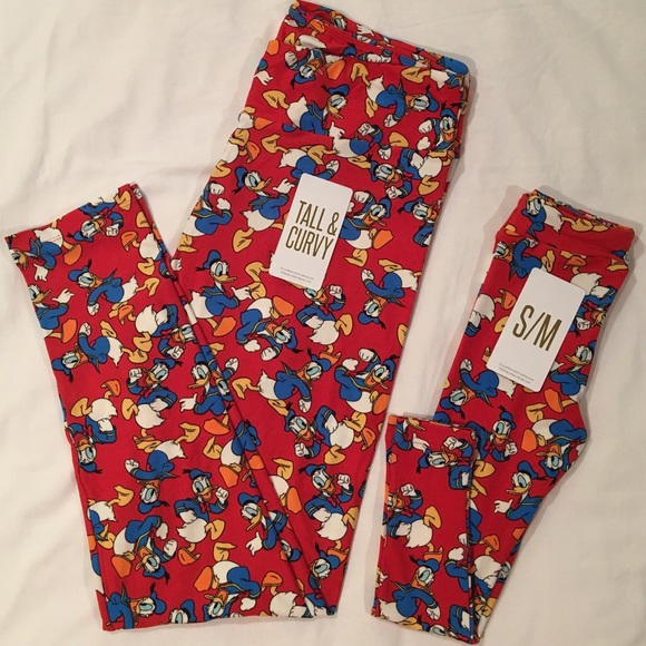 1a095e8328a LuLaRoe Disney Matching Adult and Kid s Leggings