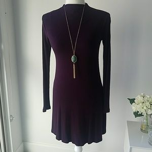 Forever 21 Purple Swing Aline Dress