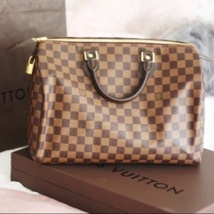 Louis luitton speedy 35 Damier ebene