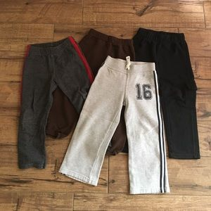 Other - Lot of 4 Sweatpants Boys 4T