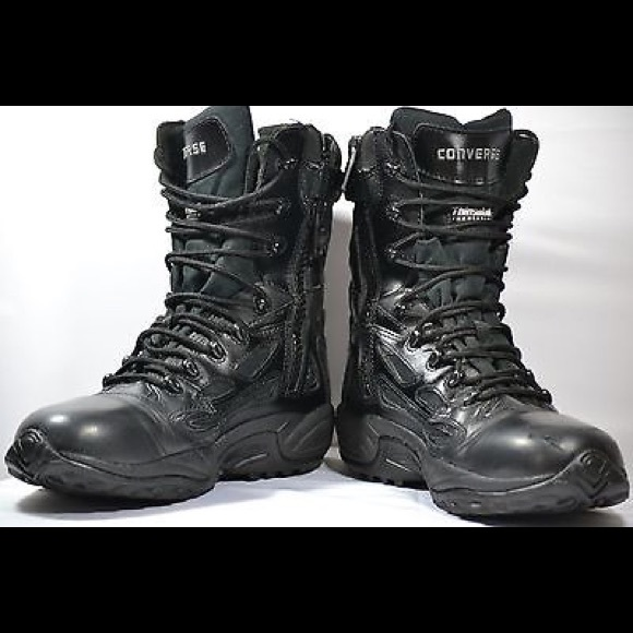 f479bd0ceeb Converse Side Zip Tactical Boots