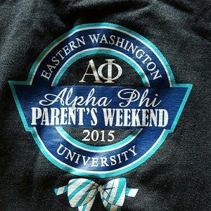 Other - Never worn alpha phi dad sweatshirt