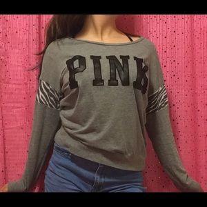 VS Pink Long-Sleeved Tee