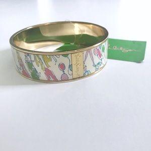 """Lilly Pulitzer """"Pop"""" Bangle Bracelet"""