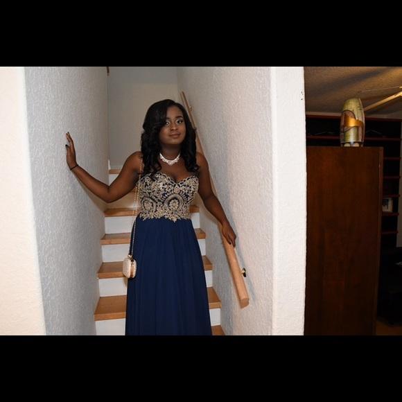 7d01fe393f camille la vie Dresses   Skirts - Navy blue Camille La Vie prom homecoming  dress