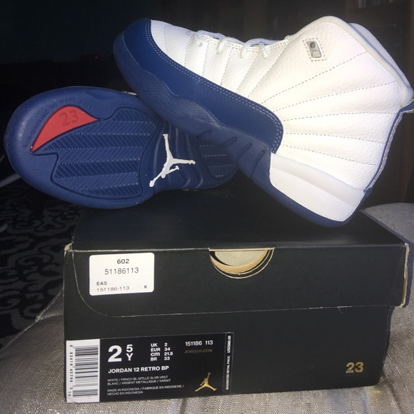 best sneakers 421f6 9ab7a Jordan French Blue 12 s