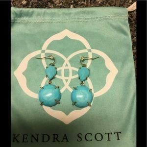 Kendra Scott turquoise Marina Earrings