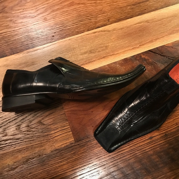 Robert Wayne Shoes - Robert Wayne Cowboy Square Toe Shoes