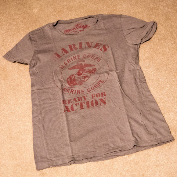 Heritage 1981 Tops - Marines t-shirt
