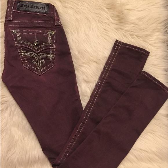 a1833d1b9c Rock Revival Margie Skinny Jeans. M 59717e4efbf6f9fd4800914e
