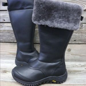 UGG Shoes - UGG Miko Black Grey Snow Rain Waterproof Boots NEW