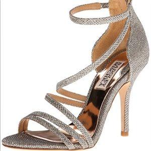 Badgely Mishka Glitter High Heels