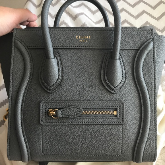30de15cd6984 Celine Handbags - Celine Nano in Kohl