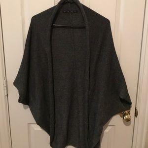 Grey Zara shrug