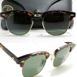 New RB3016 tortise gold Clubmaster Ray Ban 51mm