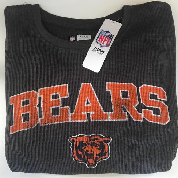 Chicago Bears Big   Tall Thermal Long Sleeve Tee 2c1c3482f