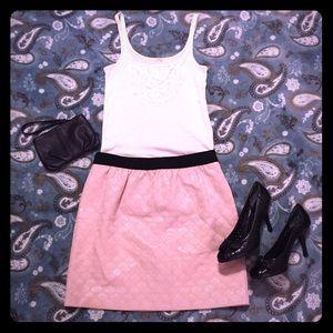 Pink LOFT Skirt