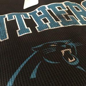 NFL Shirts - Carolina Panthers Big   Tall Thermal LS Tee aeb9a7f31