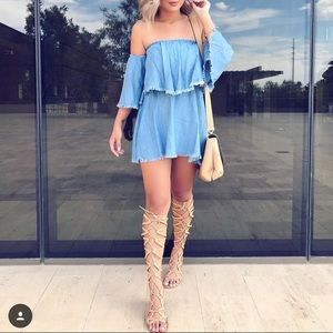 Forever denim dress