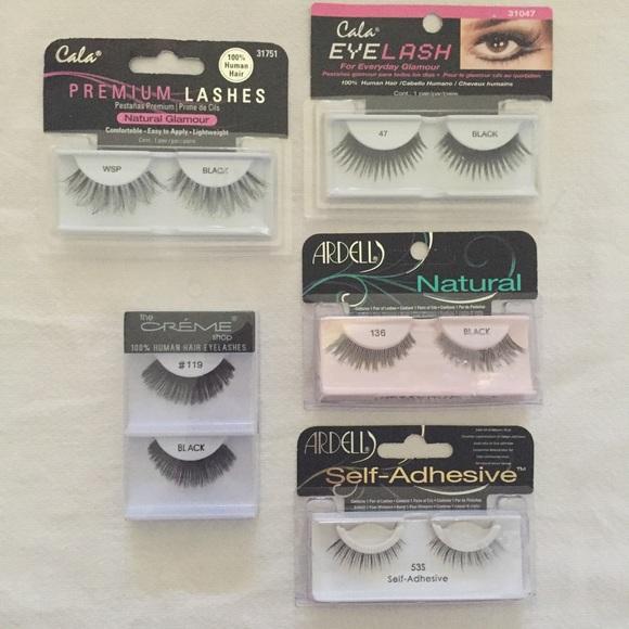 a807226cf28 Makeup | 5 Pairs Of Ardell Cala Creme Shop False Eyelashes | Poshmark
