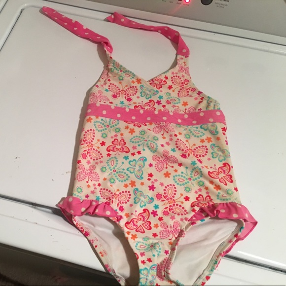 0e65357c8d733 L.L. Bean Swim   Ll Bean 3t Girls Bathing Suit   Poshmark