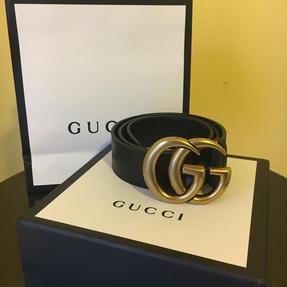 b74bef970b7 Gucci Accessories - Gucci GG marmont belt size 85