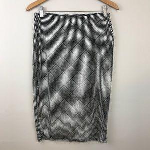 Old Navy Midi Length Knit Skirt - Size M