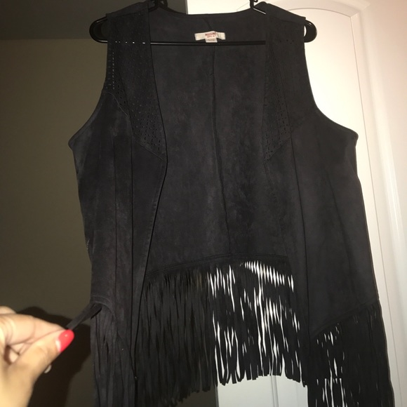 Other - Fringe vest! Never worn (cute &trendy)