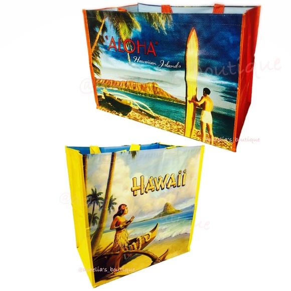 36117331c84 ❤️Sale❤ New HAWAII EXCLUSIVE Reusable Tote Bag