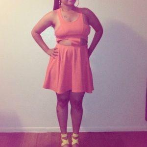 Dresses - CutOut Flirty Dress