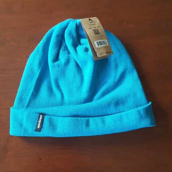 44d8f20625e58 Patagonia slopestyle beanie hat