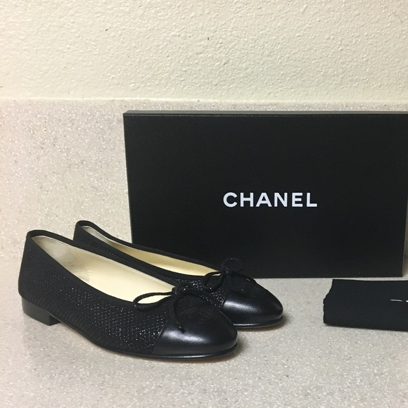 519ad13543c9 Chanel Classic CC Ballerina Flat Black Size 36