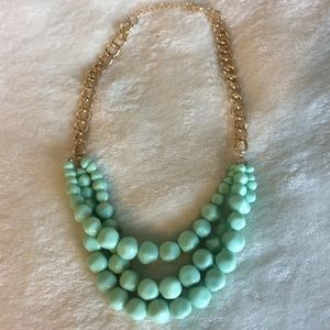 Chunky beaded necklace, NWOT