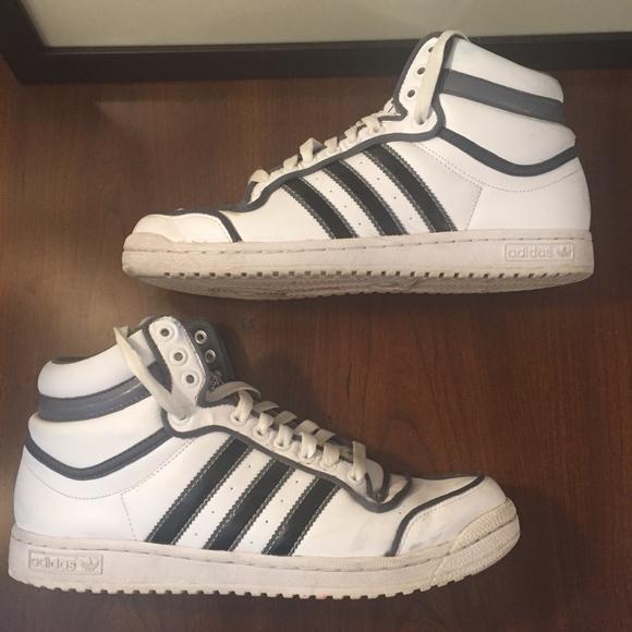 Adidas Top Ten A - La Scarpa Di Cuoio Attorno A Ten 10 Poshmark 168984