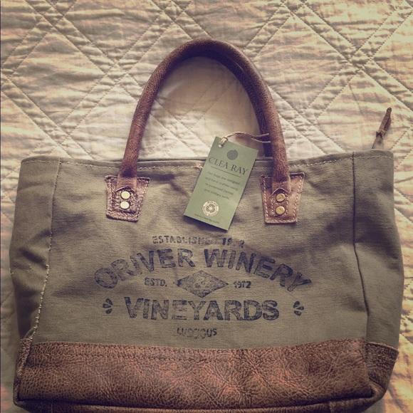 945bc7ad47 Clea Ray Handbags - Canvas hand bag