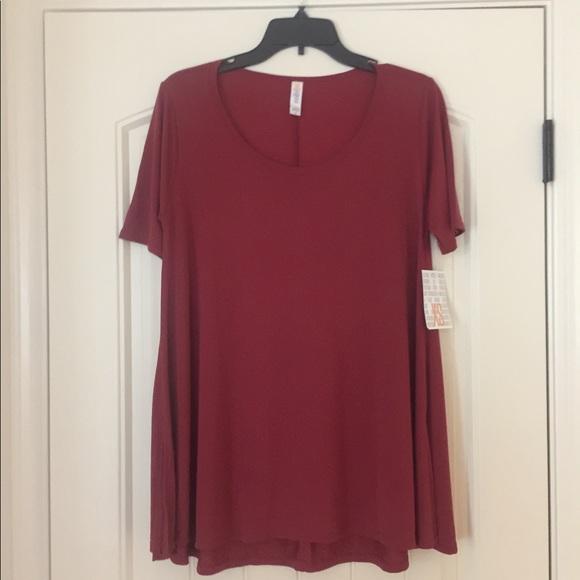 BNWT LuLaRoe Perfect T Modal fabric
