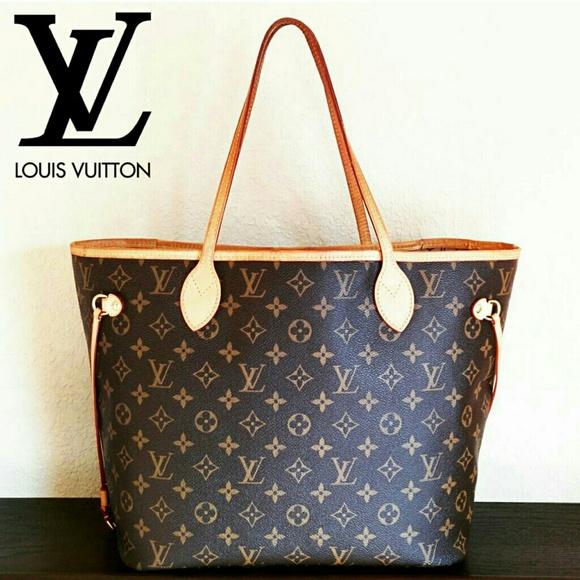 4937f842fcf8 Louis Vuitton Handbags - Louis Vuitton AUTHENTIC Neverfull MM Tote