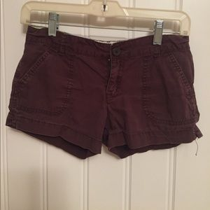 Chocolate brown shorts