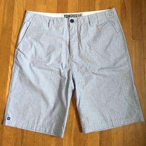 NWOT Men's light blue Flat Front shorts.
